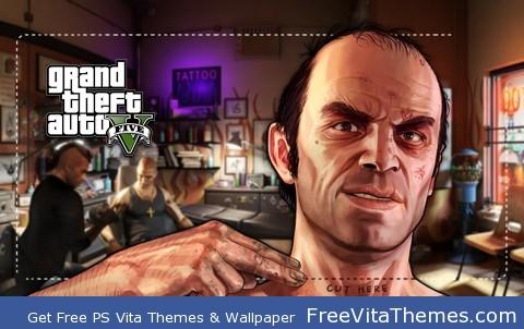 GTA V Trevor Philips PS Vita lockscreen PS Vita Wallpaper