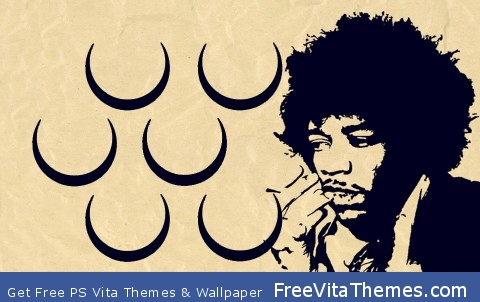 Jimi Hendrix PS Vita Wallpaper