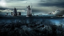 Download London Under Water PS Vita Wallpaper