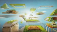 Download Space Garden PS Vita Wallpaper