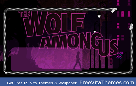 The Wolf Among Us Lockscreen PS Vita Wallpaper