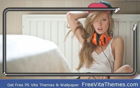 Dubstep Girl PS Vita Wallpaper
