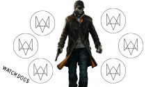 Download Watch Dogs Animated with Buttons PS Vita Wallpaper