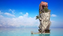 Download Sea House PS Vita Wallpaper