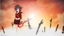 Download Kill la Kill Ryuko Sunlight PS Vita Wallpaper