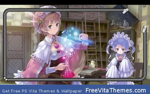 Atelier Rorona Lockscreen PS Vita Wallpaper