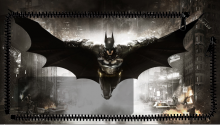 Download Batman Arkham Knight Lockscreen PS Vita Wallpaper