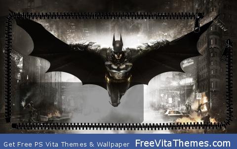 Batman Arkham Knight Lockscreen PS Vita Wallpaper