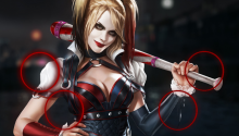 Download Harley Quinn PS Vita Wallpaper