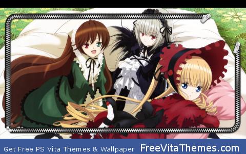 Rozen Maiden Overture Lockscreen 1 PS Vita Wallpaper