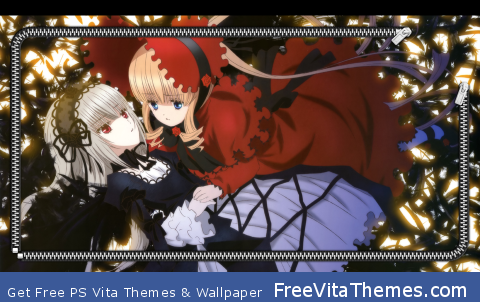 Rozen Maiden Overture Lockscreen 2 PS Vita Wallpaper