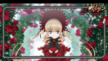 Download Rozen Maiden Overture Shinku Lockscreen PS Vita Wallpaper