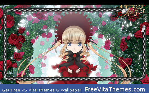 Rozen Maiden Overture Shinku Lockscreen PS Vita Wallpaper
