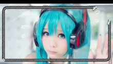 miku cosplay lock