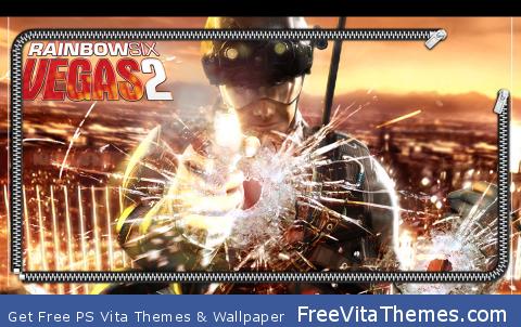 Rainbow 6 Vegas 2 Lock PS Vita Wallpaper