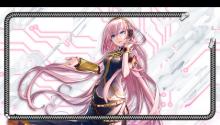 Download Xperia feat Hatsune Miku Luka Locksreen PS Vita Wallpaper