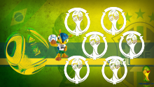 Download Brazil World Cup PS Vita Wallpaper