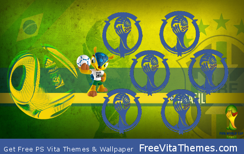 Brazil World Cup PS Vita Wallpaper