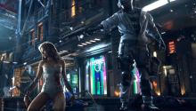 Download CyberPunk 2077 PS Vita Wallpaper