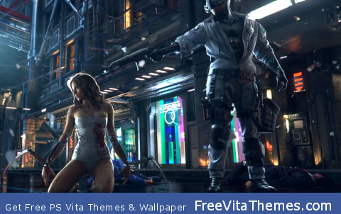 CyberPunk 2077 PS Vita Wallpaper