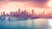 Download \Florida Usa Miami Downtown PS Vita Wallpaper