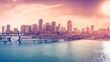Download \Florida Usa Miami Downtown PS Vita Wallpaper