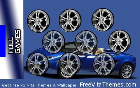 Cholo Lamborghini PS Vita Wallpaper
