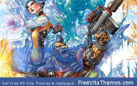 Borderlands 2 Lockscreen PS Vita Wallpaper