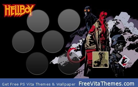 Hellboy PS Vita Wallpaper