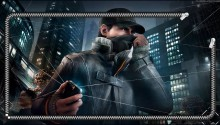Download Watch Dogs lockscreen PS Vita Wallpaper