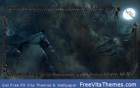Bloodborne Lockscreen PS Vita Wallpaper