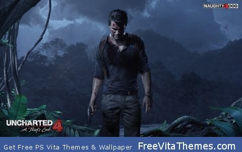 Uncharted 4 PS Vita Wallpaper