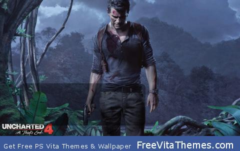 Uncharted 4 A Thief's End Lockscreen PS Vita Wallpaper
