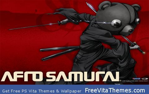 Afro Samurai PS Vita Wallpaper