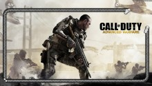 Download COD Advanced Warfare lockscreen PS Vita Wallpaper