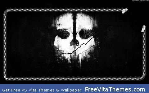 COD Ghost lockscreen PS Vita Wallpaper