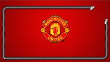 Download manchester united zipper lock screen PS Vita Wallpaper
