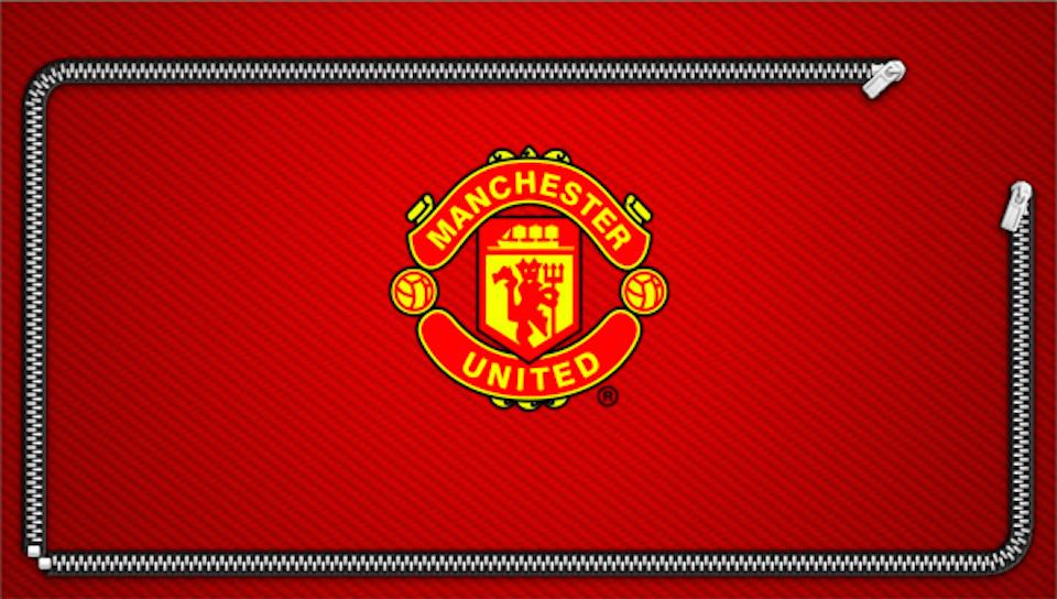 Manchester United Zipper Lock Screen Ps Vita Wallpapers