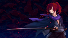 Download Rurouni Kenshin PS Vita Wallpaper