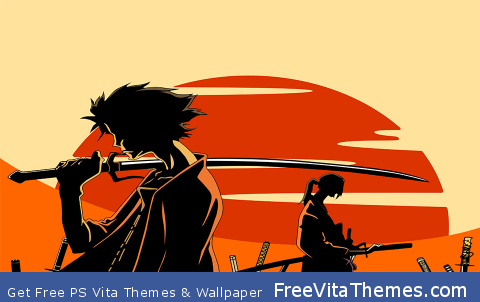 Samurai Champloo PS Vita Wallpaper