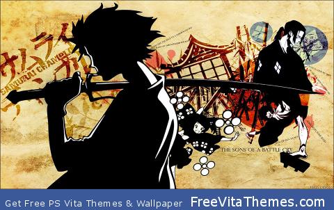 Samurai Champloo PS Vita Wallpaper