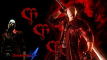 Download DMC4 Dante The Datk Knight PS Vita Wallpaper
