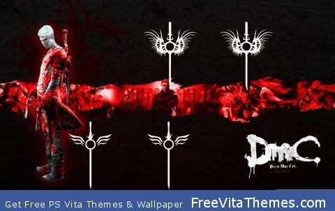 DmC Devil May Cry PS Vita Wallpaper