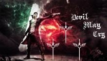 Download DmC Devil May Cry Dante PS Vita Wallpaper