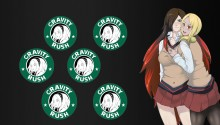 Gravity Rush Kat & Revan School Costume Icon stand