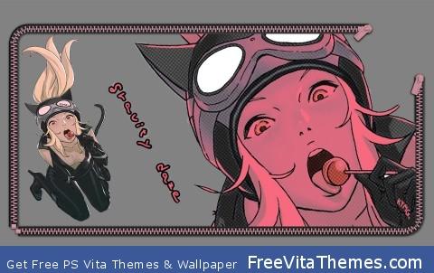 Gravity Rush Screen Lock PS Vita Wallpaper