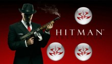 Download Hitman Absolution Agent 47 with tmmoy gun PS Vita Wallpaper