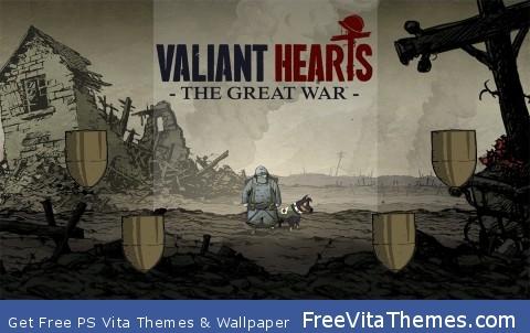 Valiant Hearts: The Great War PS Vita Wallpaper