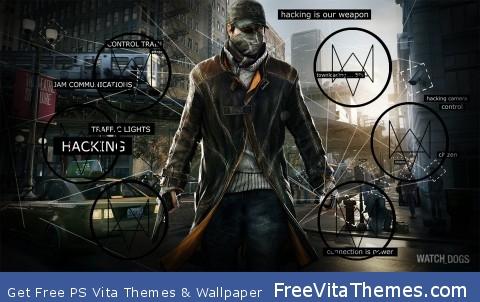 Watch_Dogs PS Vita Wallpaper