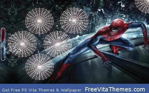 The Amazing Spider Man Button Wallpaper PS Vita Wallpaper